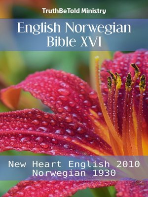 cover image of English Norwegian Bible XVI