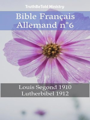 cover image of Bible Français Allemand n°6