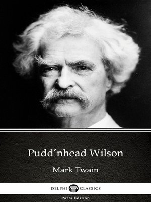 cover image of Pudd'nhead Wilson by Mark Twain