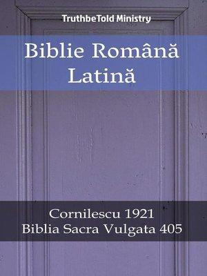 cover image of Biblie Română Latină