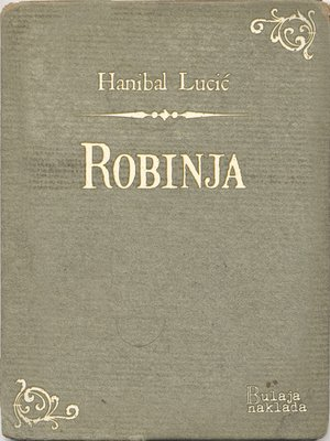 cover image of Robinja