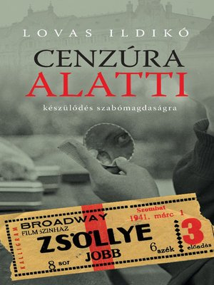 cover image of Cenzúra alatti