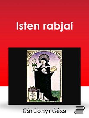 cover image of Isten rabjai