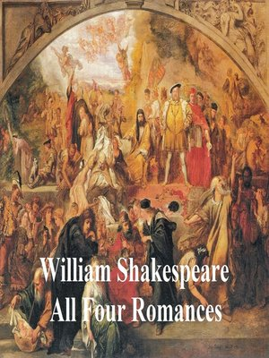 cover image of Shakespeare's Romances: All Four Plays, with line numbers
