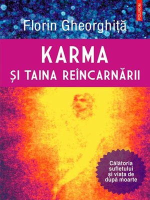 cover image of Karma și taina reîncarnării