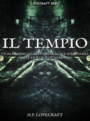 cover image of Il tempio
