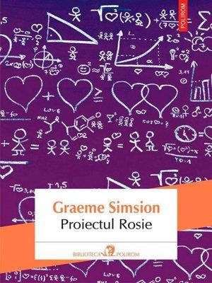 cover image of Proiectul Rosie