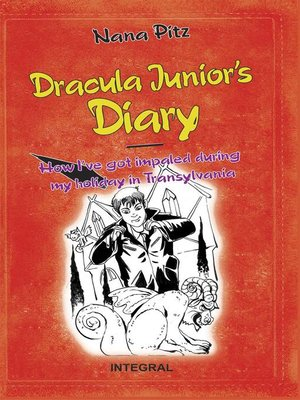 cover image of Dracula Junior's Diary