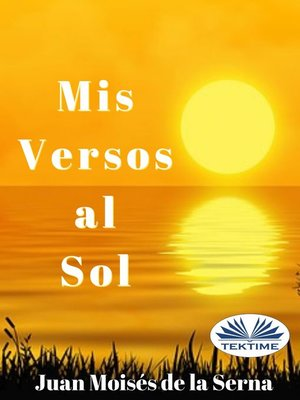 cover image of Mis Versos Al Sol