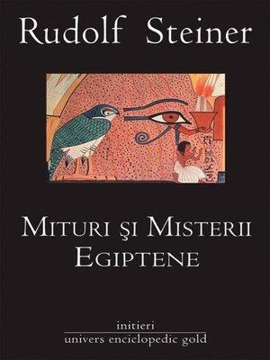 cover image of Mituri și misterii egiptene