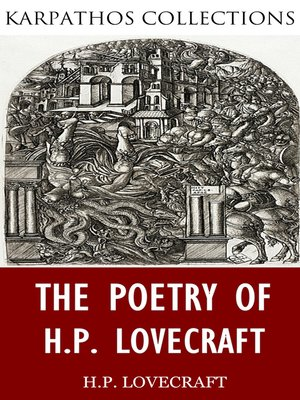 cover image of The Poetry of H.P. Lovecraft