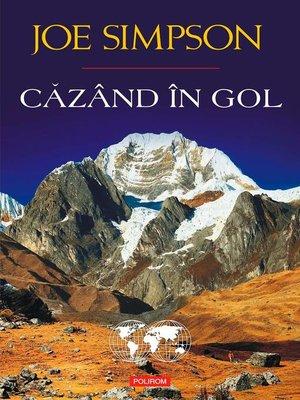 cover image of Căzând în gol