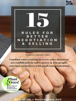 cover image of 15 Rules for Better Negotiation & Selling