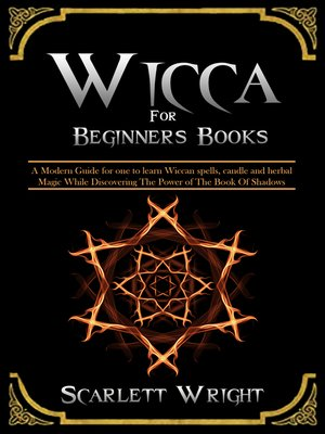 cover image of Wicca For Beginners Books
