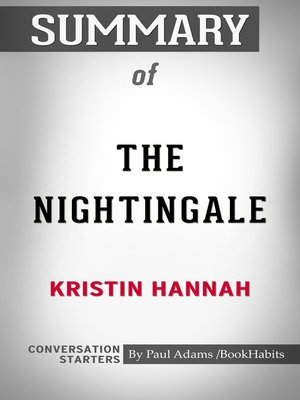 cover image of Summary of The Nightingale