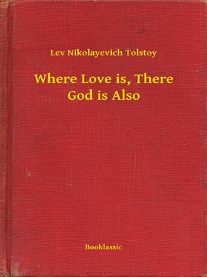 cover image of Where Love is, There God is Also
