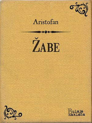 cover image of Žabe