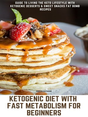 cover image of Ketogenic Diet With Fast Metabolism For Beginners