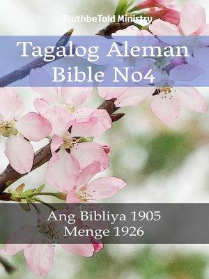 cover image of Tagalog Aleman Bible No4