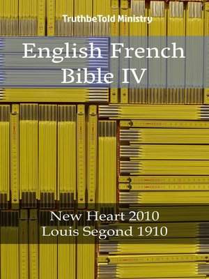 cover image of English French Bible IV