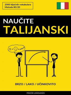 cover image of Naučite Talijanski--Brzo / Lako / Učinkovito