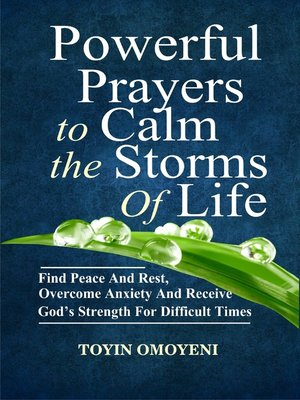 cover image of Powerful Prayers to Calm the Storms of Life