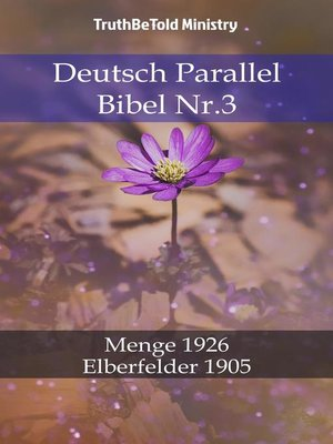 cover image of Deutsch Parallel Bibel Nr.3