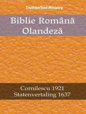 cover image of Biblie Română Olandeză