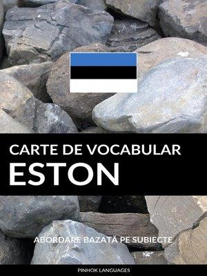 cover image of Carte de Vocabular Eston