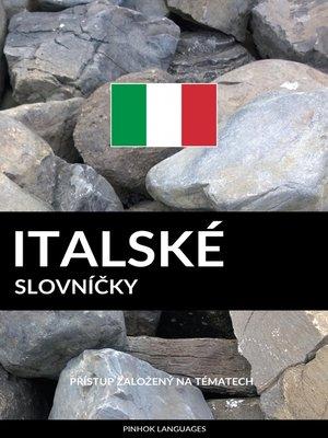 cover image of Italské Slovníčky