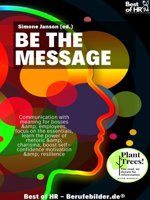 cover image of Be the Message