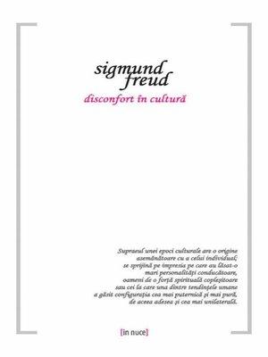 cover image of Disconfort în cultură