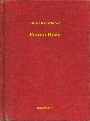 cover image of Panna Róża