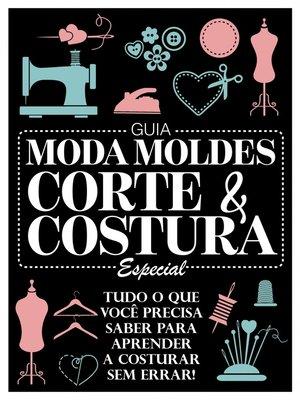 cover image of Guia Moda Moldes Corte e Costura Especial