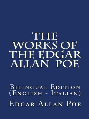 cover image of The Works of the Edgar Allan Poe
