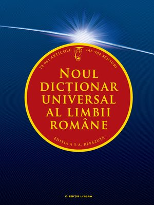 cover image of Noul Dictionar Universal al limbii romane