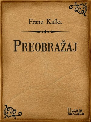 cover image of Preobražaj