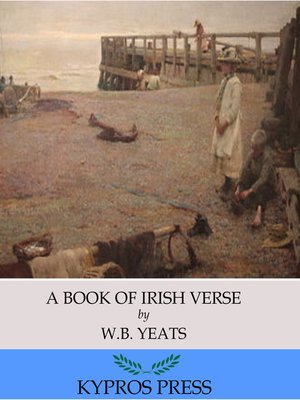 cover image of A Book of Irish Verse