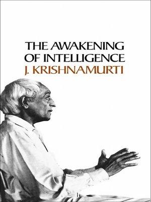 cover image of Awakening of Intelligence