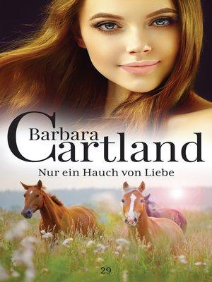 cover image of Nur ein Hauch von Liebe