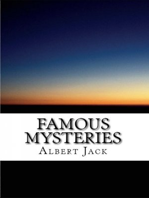 cover image of Famous Mysteries
