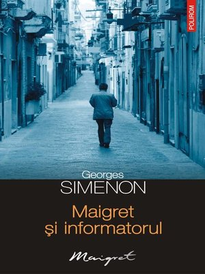 cover image of Maigret și informatorul
