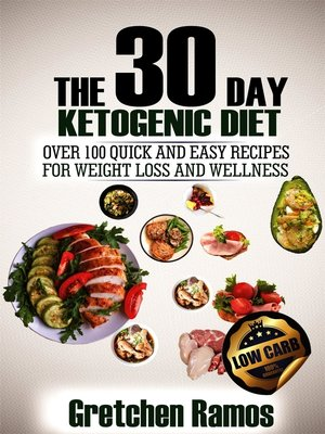 cover image of The 30 Day Ketogenic Diet