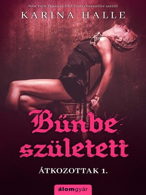 cover image of Bűnbe született