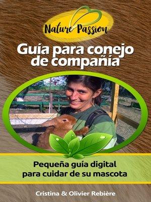 cover image of Guía para conejo de compañía