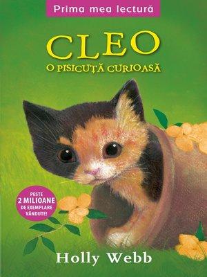 cover image of Cleo, o pisicuta curioasa