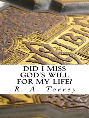 cover image of Did I Miss God's Will for My Life