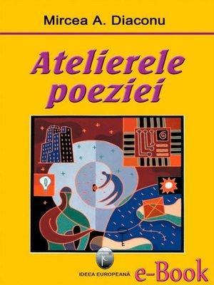 cover image of Atelierele poeziei
