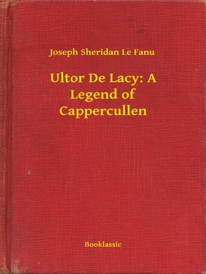 cover image of Ultor De Lacy