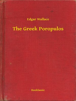cover image of The Greek Poropulos